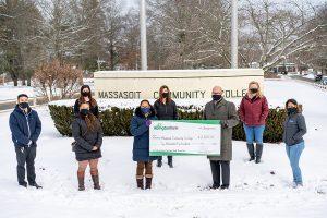 Abington Bank's donation to the Massasoit Community College Educational Enrichment Fund