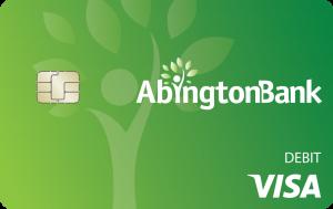 Abington Bank Debit Visa® Card